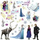 DISNEY FROZEN Movie Wall Decals OLAF ELSA ANNA New 36 Bedroo