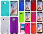 For At&t Samsung Galaxy S6 Active Rubberized HARD Protector