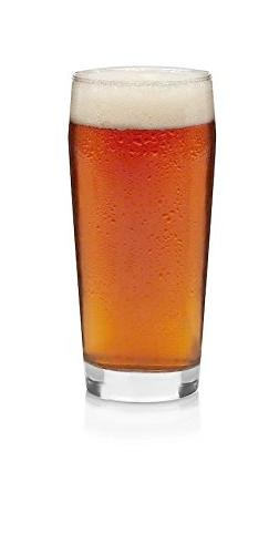 Libbey Craft Brews Craft Pub Beer Glasses, 20-ounce, Set of