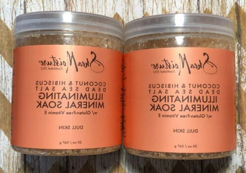 Shea Moisture Coconut & Hibiscus Dead Sea Salt Muscle Relief