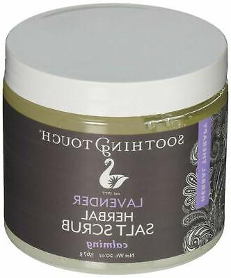 Soothing Touch W67365L2 Salt Scrub Lavender, 20-Ounce