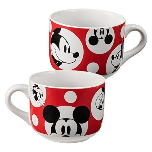 Vandor Mouse 20 Ounce Ceramic Soup Mug,