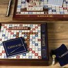 Winning Solutions Scrabble Deluxe Edition Wooden Board Game