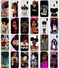 Afro Girls Melanin Poppin Aba soft case cover for iPhone 5 5