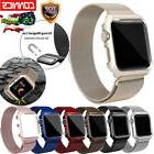 For Apple Watch Series 3/2/1 Milanese Stainless Steel iWatch