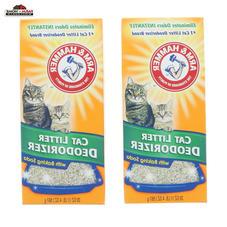 Arm & Hammer Cat Litter Deodorizer, Baking Soda, 20 oz