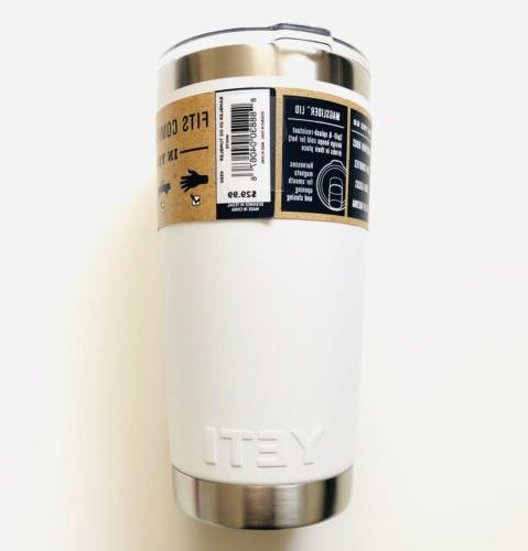 Authentic YETI Tumbler + Magslider Lid Shipping