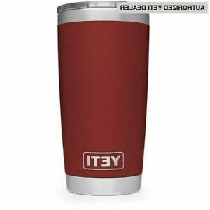 authentic 20oz tumbler brick red stainless steel