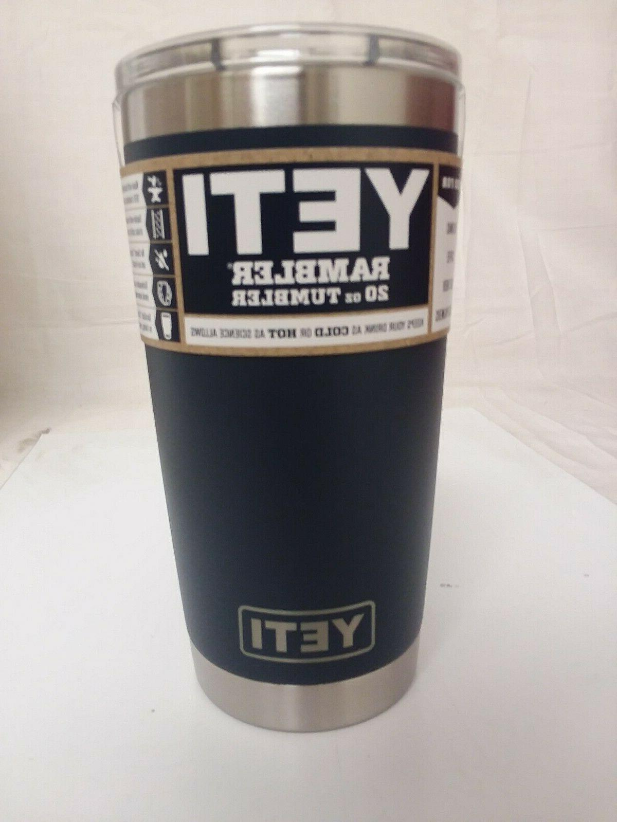 authentic 20oz tumbler navy stainless steel new