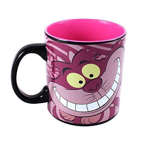 Silver Alice in Cheshire Cat Mug,