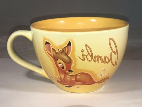 Bambi Disney Store Exclusive Lg Soup Tea Bright Yellow 20