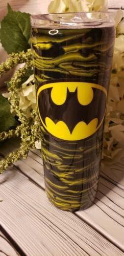 batman custom made 20 oz tumbler stainless