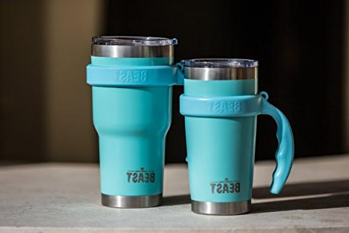 BEAST 20oz Tumbler with Brush & by Greens Steel