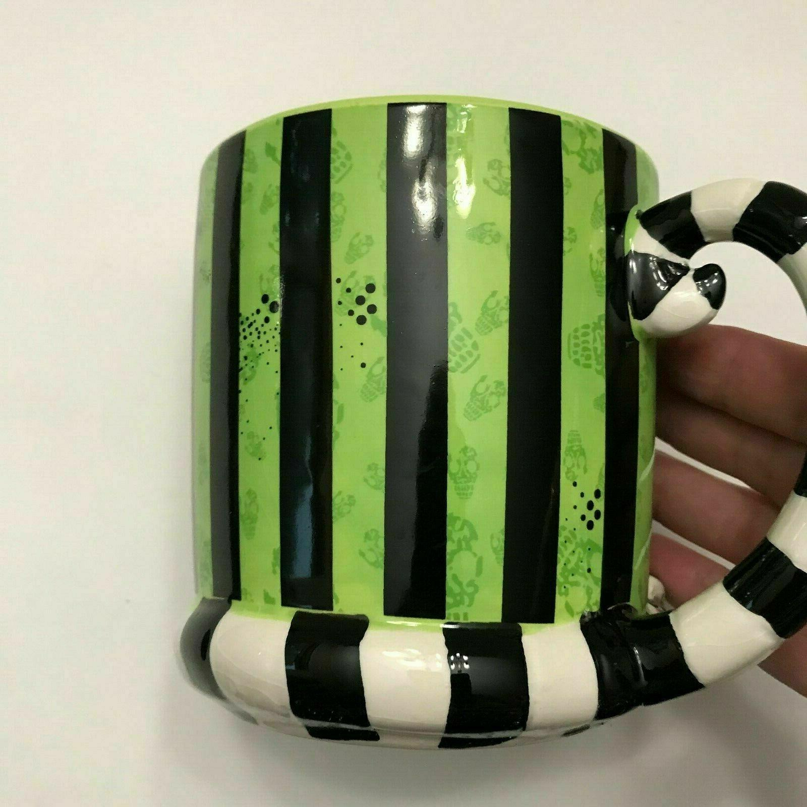 Beetlejuice Coffee Tim Burton Novelty Design Ceramic Cup
