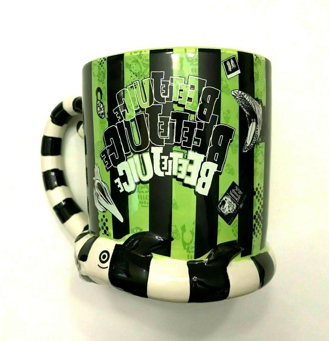 beetlejuice coffee mug 20oz tim burton novelty