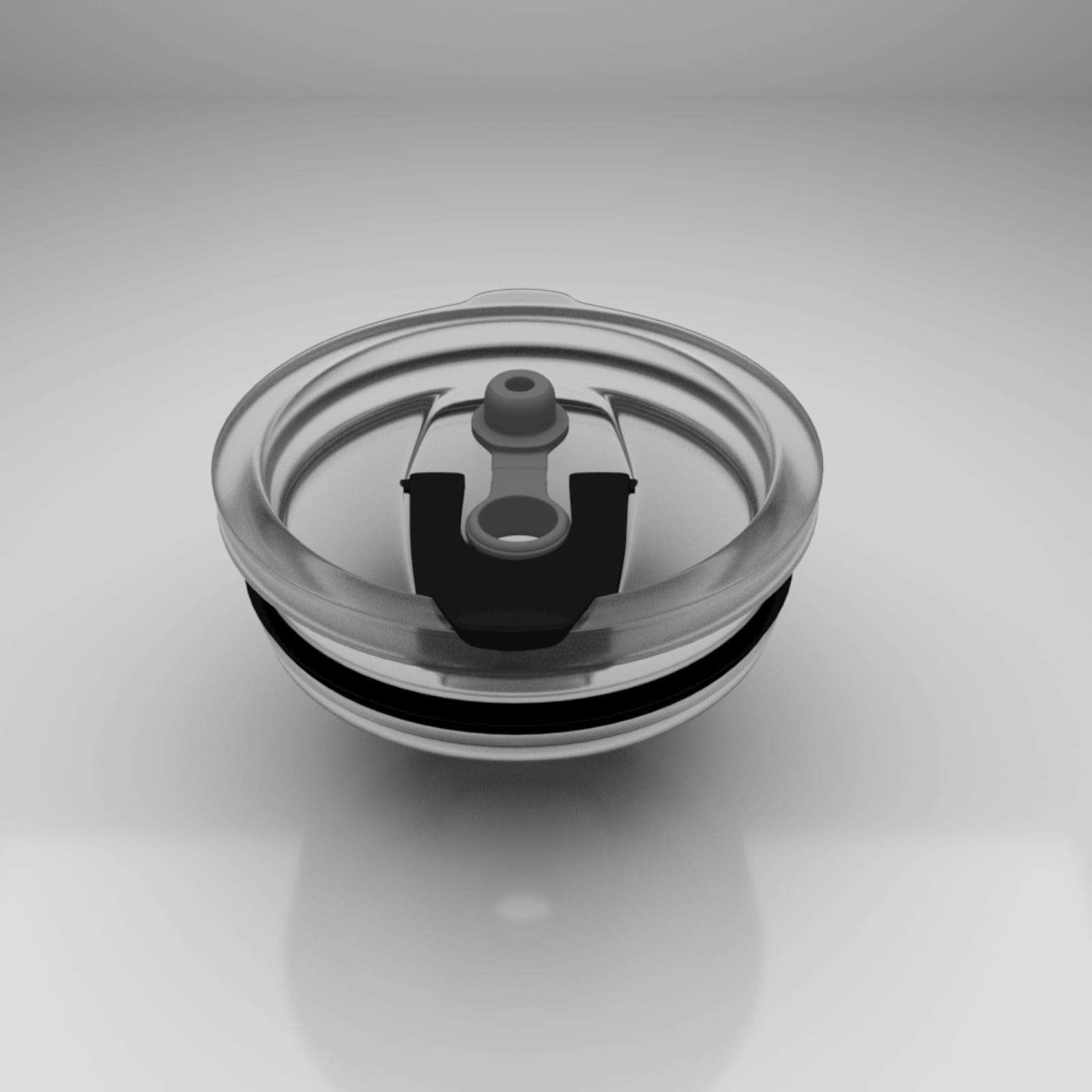 Black oz Sealed Steel Coffee Mug | Alperi