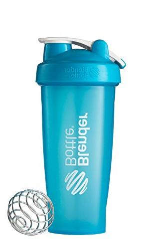 BlenderBottle Shaker 28-Ounce, Aqua/Aqua