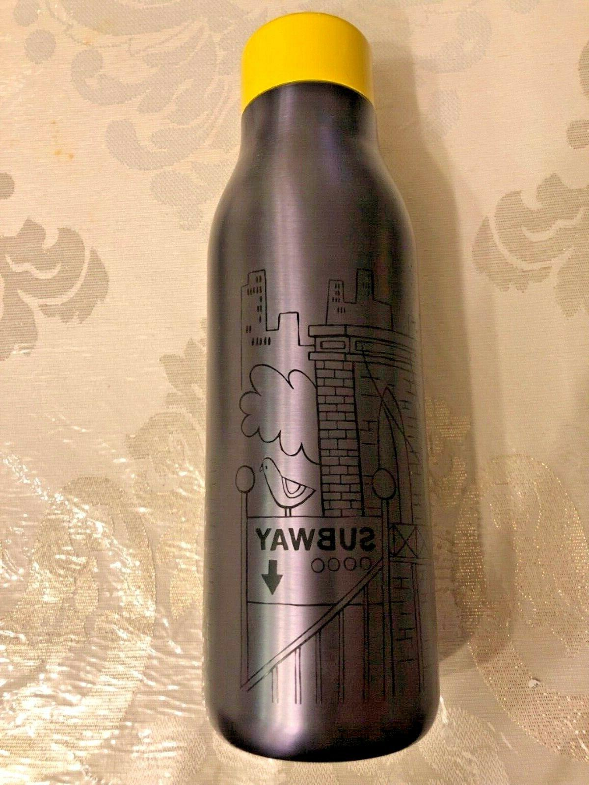 Starbucks Bottle Thermos NYC New Bottle Tumbler NEW