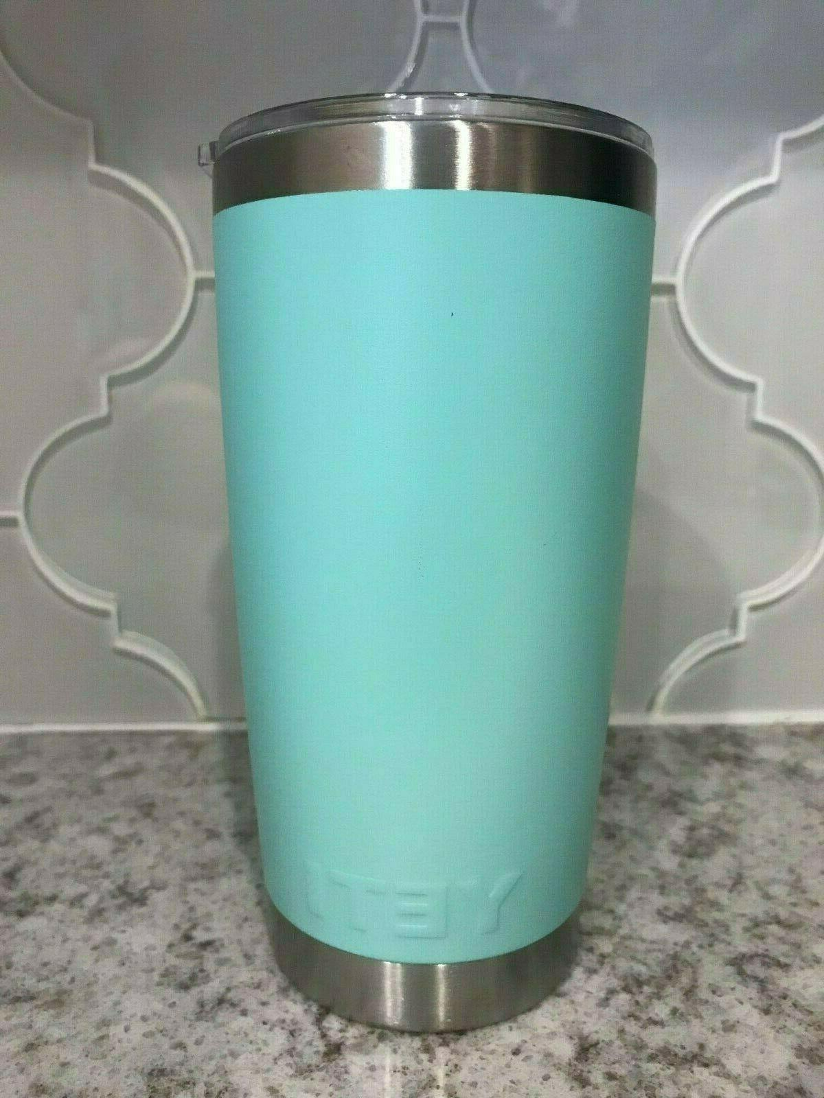 Brand Tumbler with Lid Red, Teal Mermaid