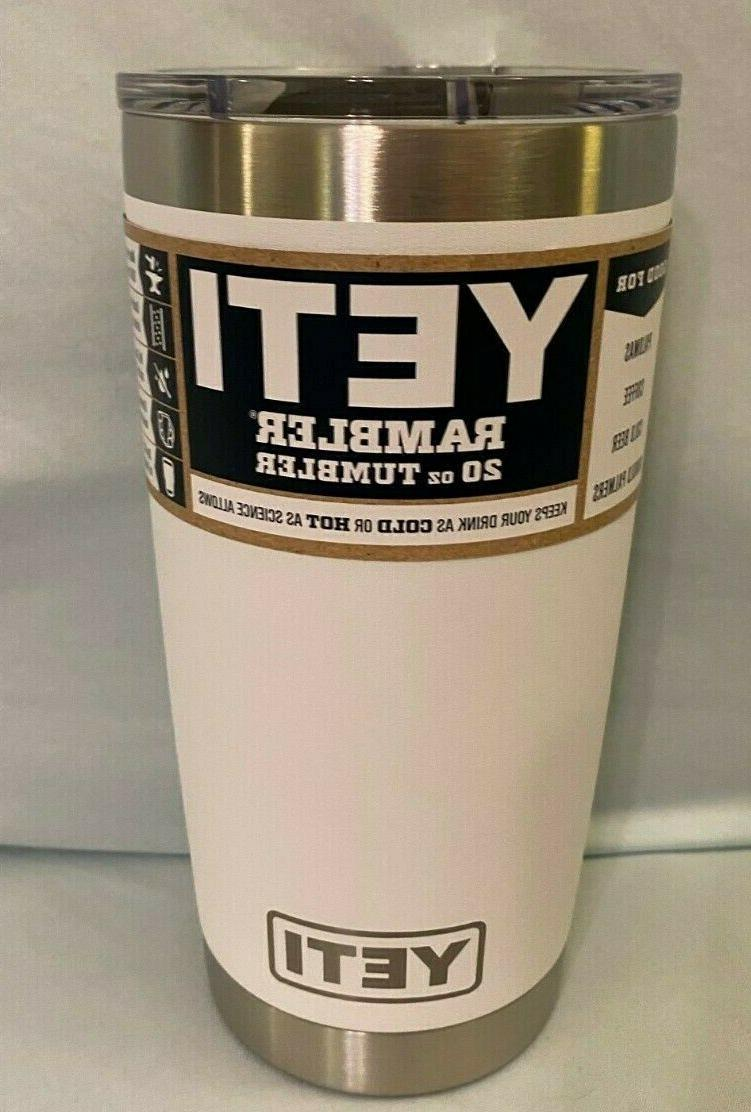 Brand New YETI Rambler 20 with Choose Color