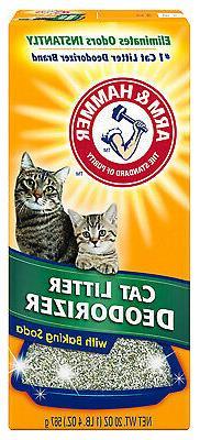 Cat Litter Deodorizer With Baking Soda, 20-oz.