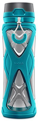 Zulu Water with 360 Dial-a-Flow Lid, Teal, oz