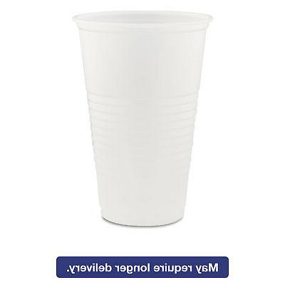 Dart Conex Translucent Plastic Cold Cups 20oz 1000/Carton Y2