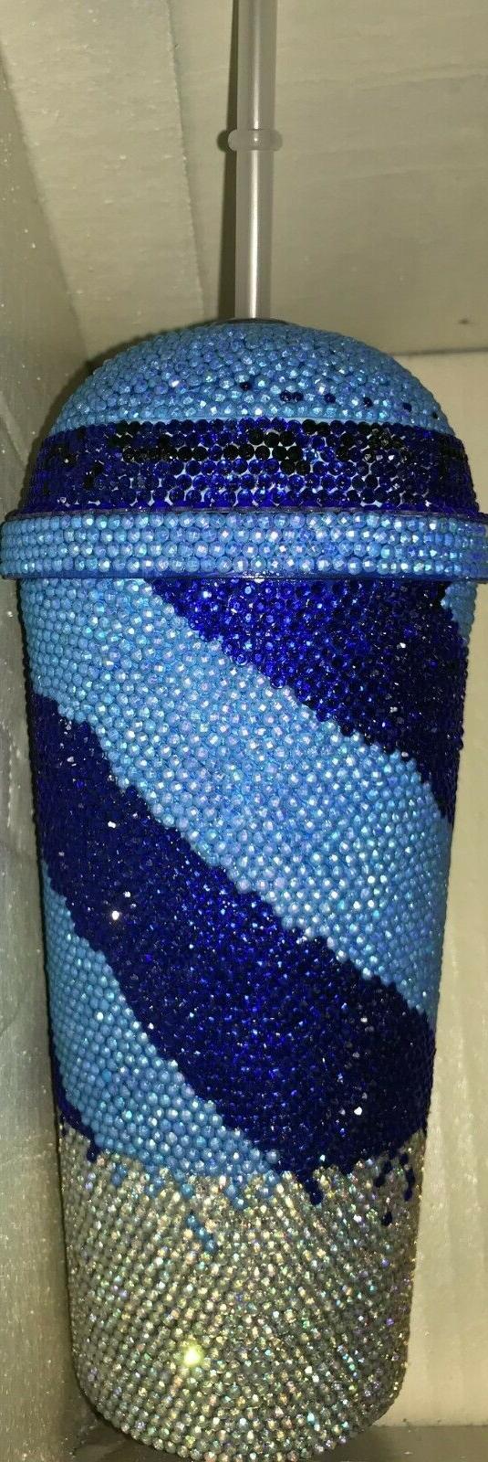 Custom Bling Tumbler Cup oz Swirl Personalized
