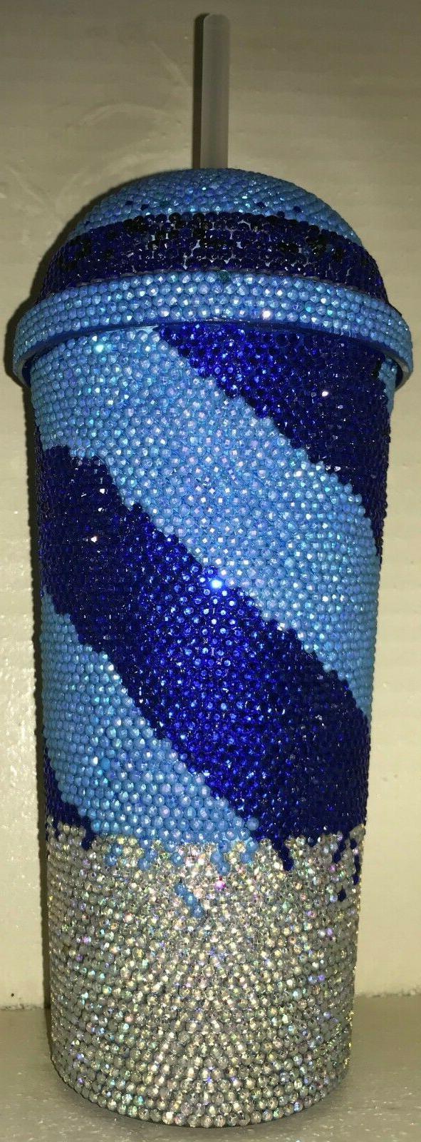 custom bling tumbler drink cup 20 oz