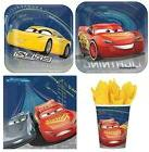 Disney Cars 3 Express Birthday Party Supplies for 8 guests