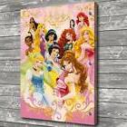 Disney Princess Girls Home Decor Room HD Canvas Print Pictur