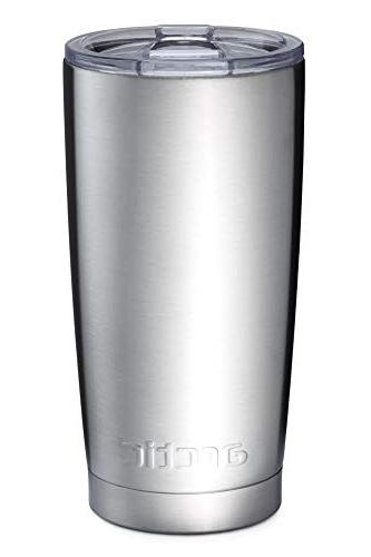 Arctic Tumblers Camping & Tumbler with Splash Lid and Wall Vacuum Thermos -