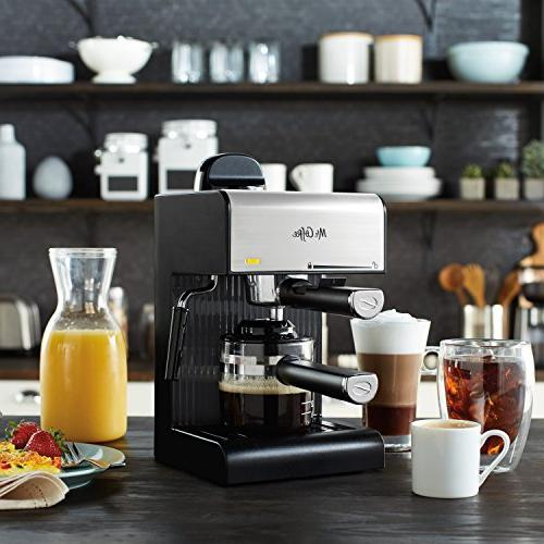 Mr. Coffee BVMC-ECM180 Espresso with Black