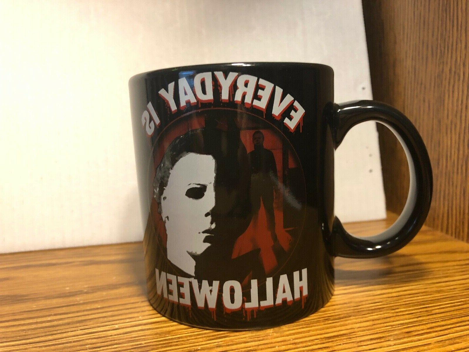 Everyday Is Halloween Michael Myers RARE 20 Oz. Coffee Mug C