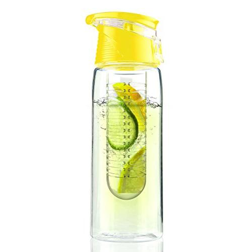 flavor infuser water bottle fruit