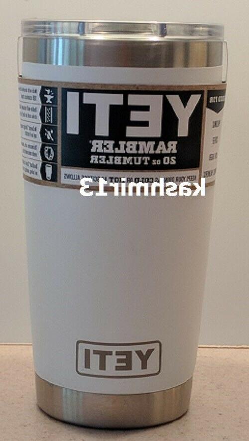 Genuine YETI Rambler 20 OZ Tumbler w/Magslider Lid - Brand N