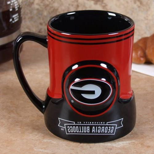 georgia bulldogs coffee mug