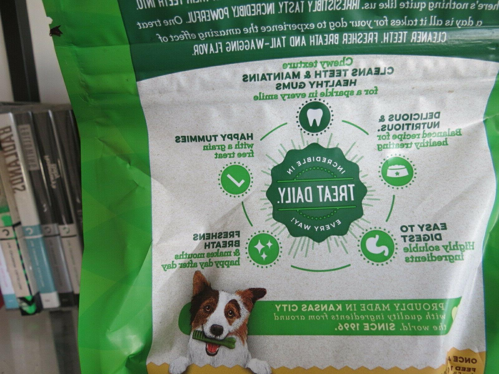 Greenies Dental Dog Treats Snacks 12 20 15-25lb