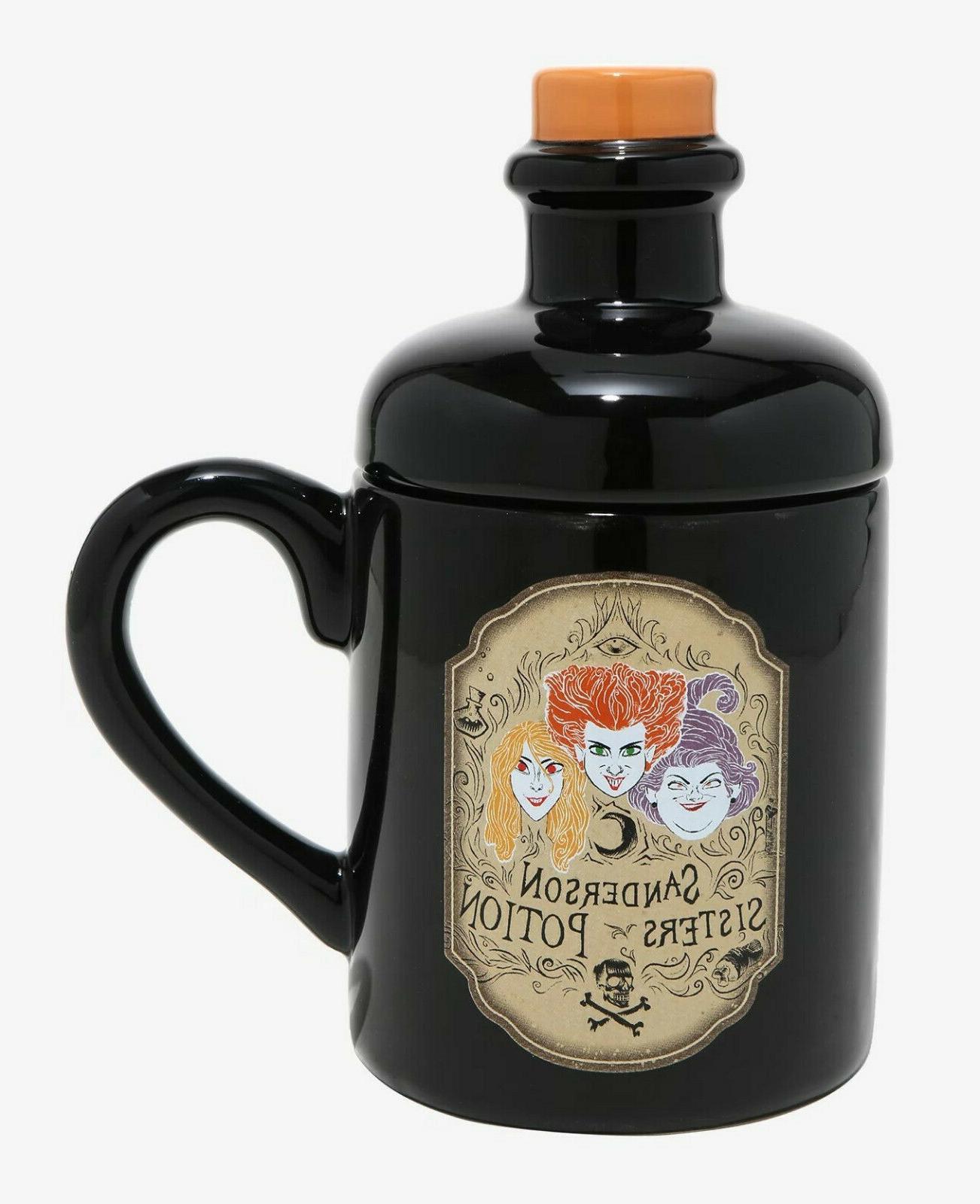 hocus pocus sanderson sisters potion ceramic 3d