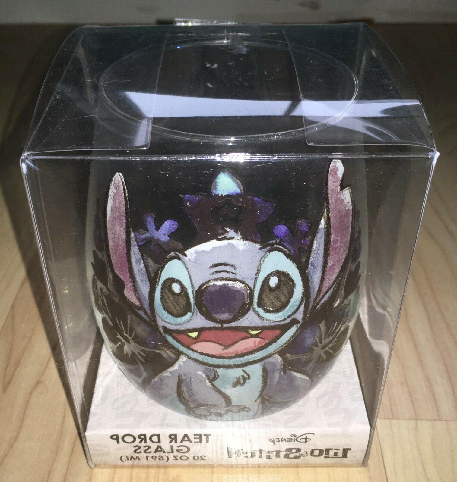Disney Stitch Tear oz Ohana Wine