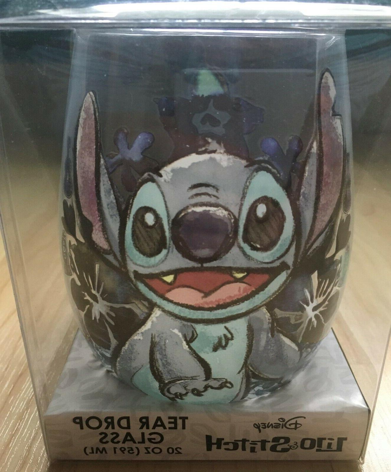 Disney Stitch Tear Drop oz Wine