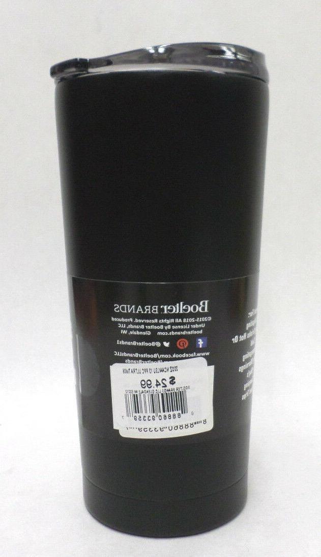 LSU 20 Ultra Tumbler Boelter Premium Coat Black