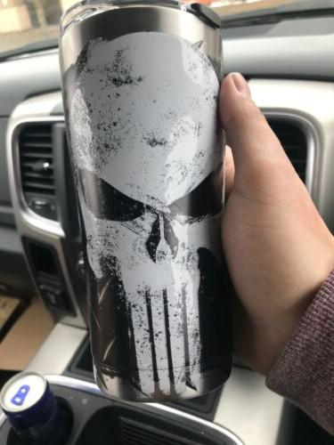 MARVEL STAINLESS TUMBLER OZ WITH BRAND
