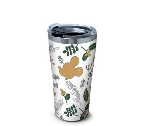Mickey Mouse Disney Holiday Foliage Tervis LE Stainless Stee