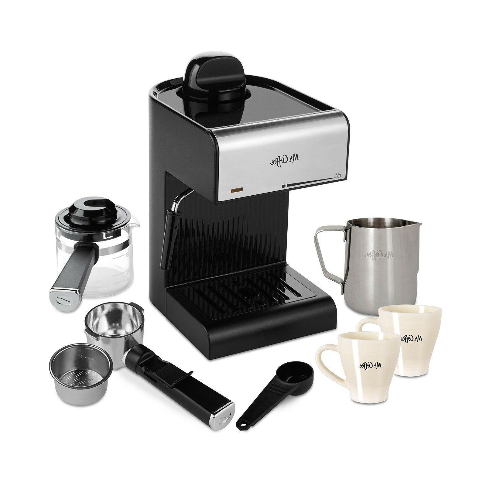 Mr. Coffee Espresso Black