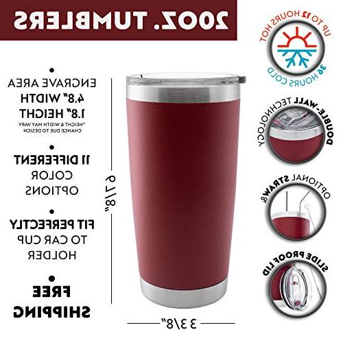 Personalized Wall Tumbler Thermos Insulated Different Color Options Tumbler with Bridal Party Maid Honor Gift any Title&Name