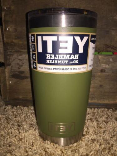 NEW! Yeti 20 Olive Limited Edition Coffee Original