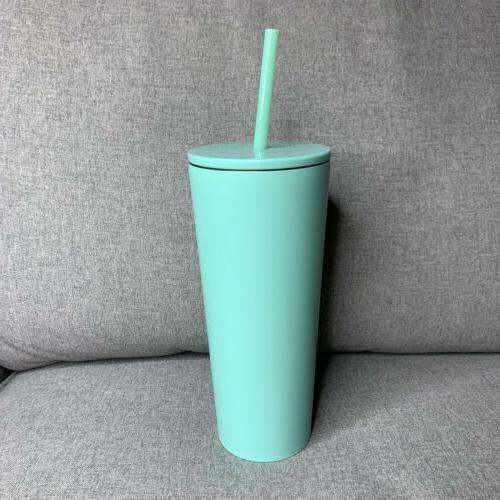 NEW Starbucks Tiffany Stainless Steel Tumbler Cold Cup 20 Oz