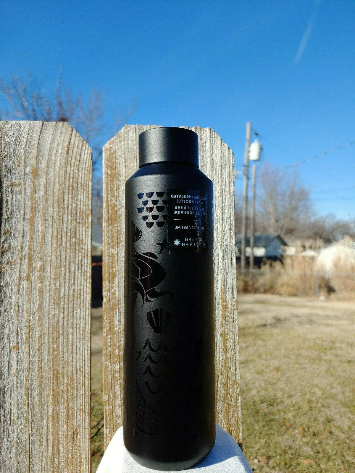 New 2020 Black WATER Insulated
