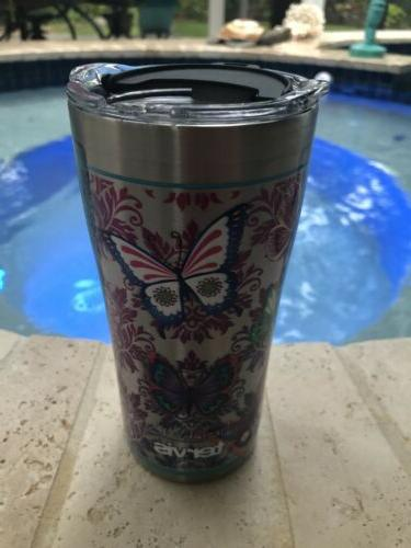 new 20oz stainless steel insulated travel tumbler